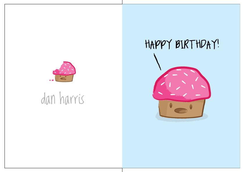 Cake Birthday Card Ideas