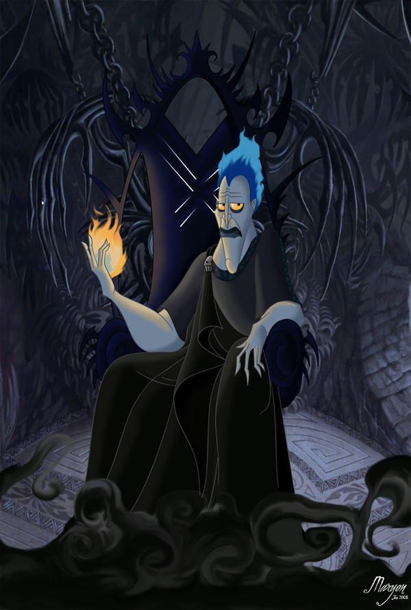 Hades, God of the Underworld by PinkBassist3 on DeviantArt