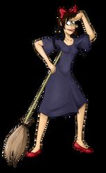 Maryon as Kiki the Witch