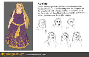 Adeline Reference Sheet by Zukitz
