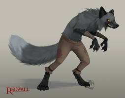 Redwall Fox Fan Character by Zukitz