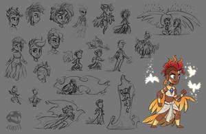 Phoenix Girl by Zukitz