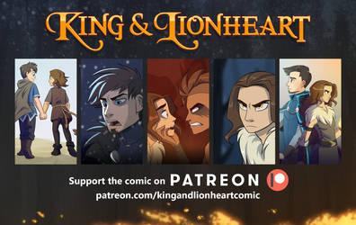 King and Lionheart Comic by Zukitz