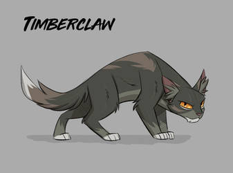Government Assigned Warrior Cat by Zukitz