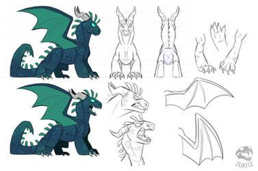 Dragon Form Info Sheet by Zukitz