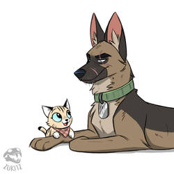 Draw This In Your Style: Pixie and Brutus