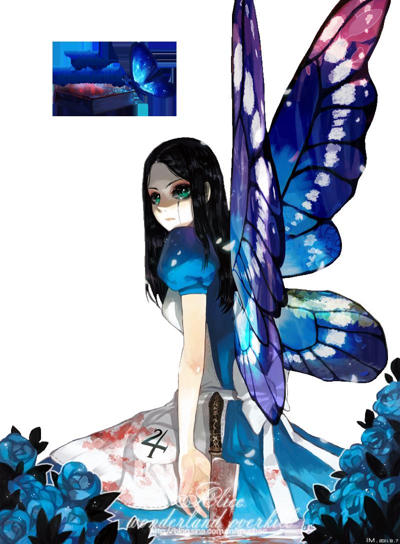 #4 Anime render Alice butterfly by Butterfly-Blue-B