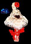 #6 Anime Hell ballerina Render
