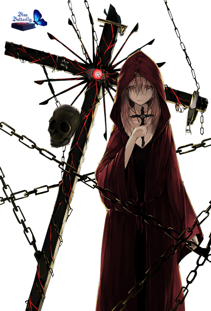 #7 Anime curse Render by Butterfly-Blue-B