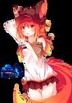 #8 Anime fox girl Render