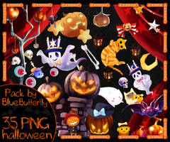 Pack by Blue Butterfly PNG 35 halloween
