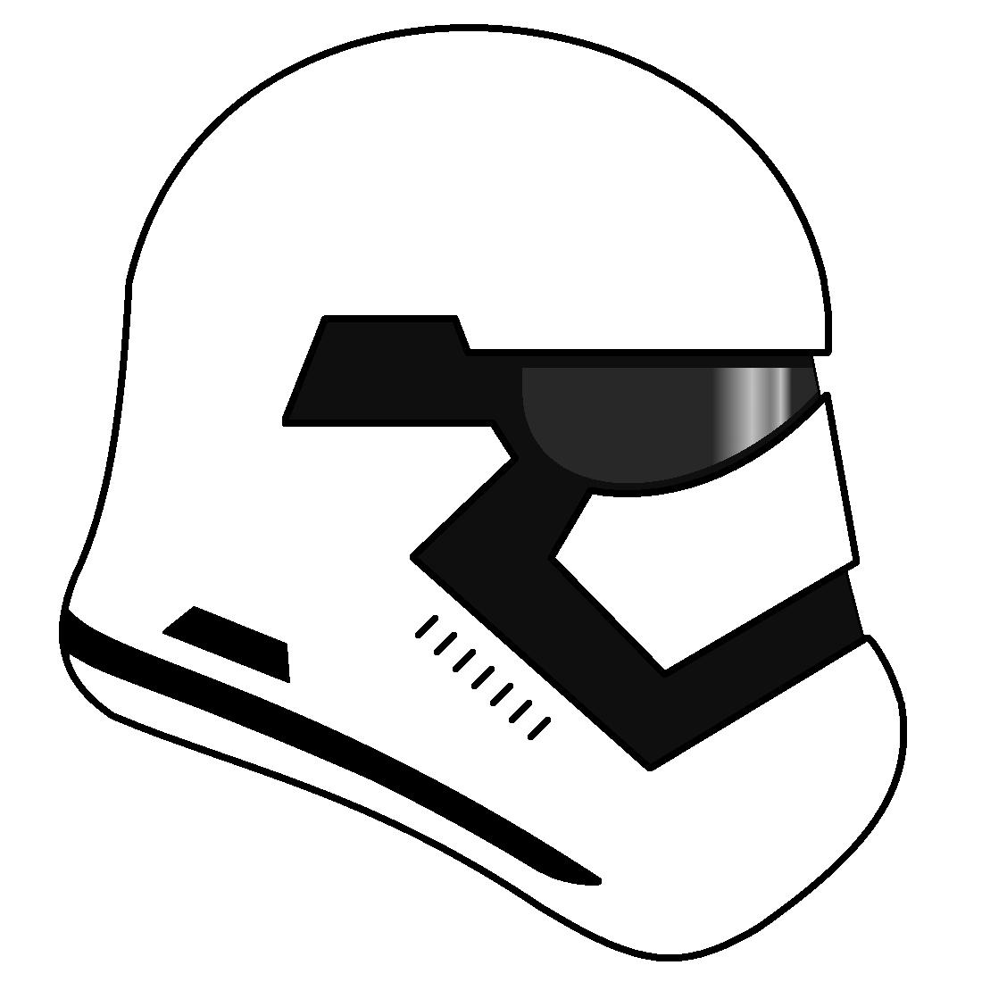 first order stormtrooper helmet by cameronwink on deviantart