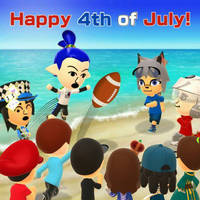Happy 4th of July! by GoldRaibowMario2