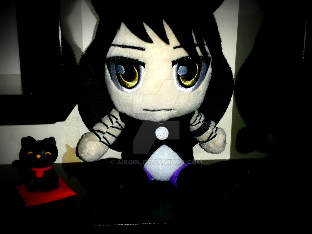Blake Plushie and her kitty by AikoPL