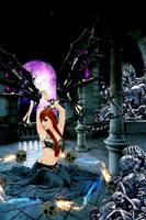 Imprisoned Angel by deejjoy