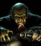 Ghoul Feeding by pmoodie