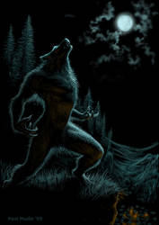 Howl of the Werewolf by pmoodie by pmoodie