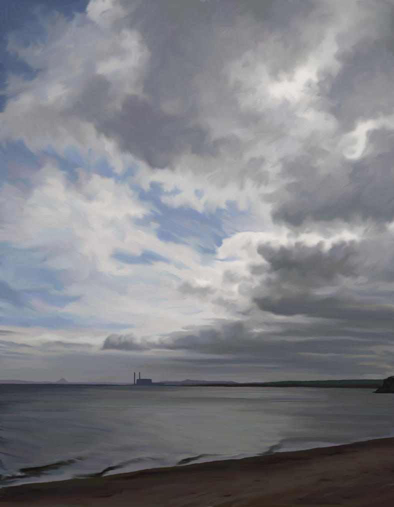 Clouds Over Cockenzie by pmoodie