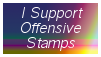 Offensive Stamps by MaxxStamps