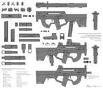 M290 Submachine Gun Concept