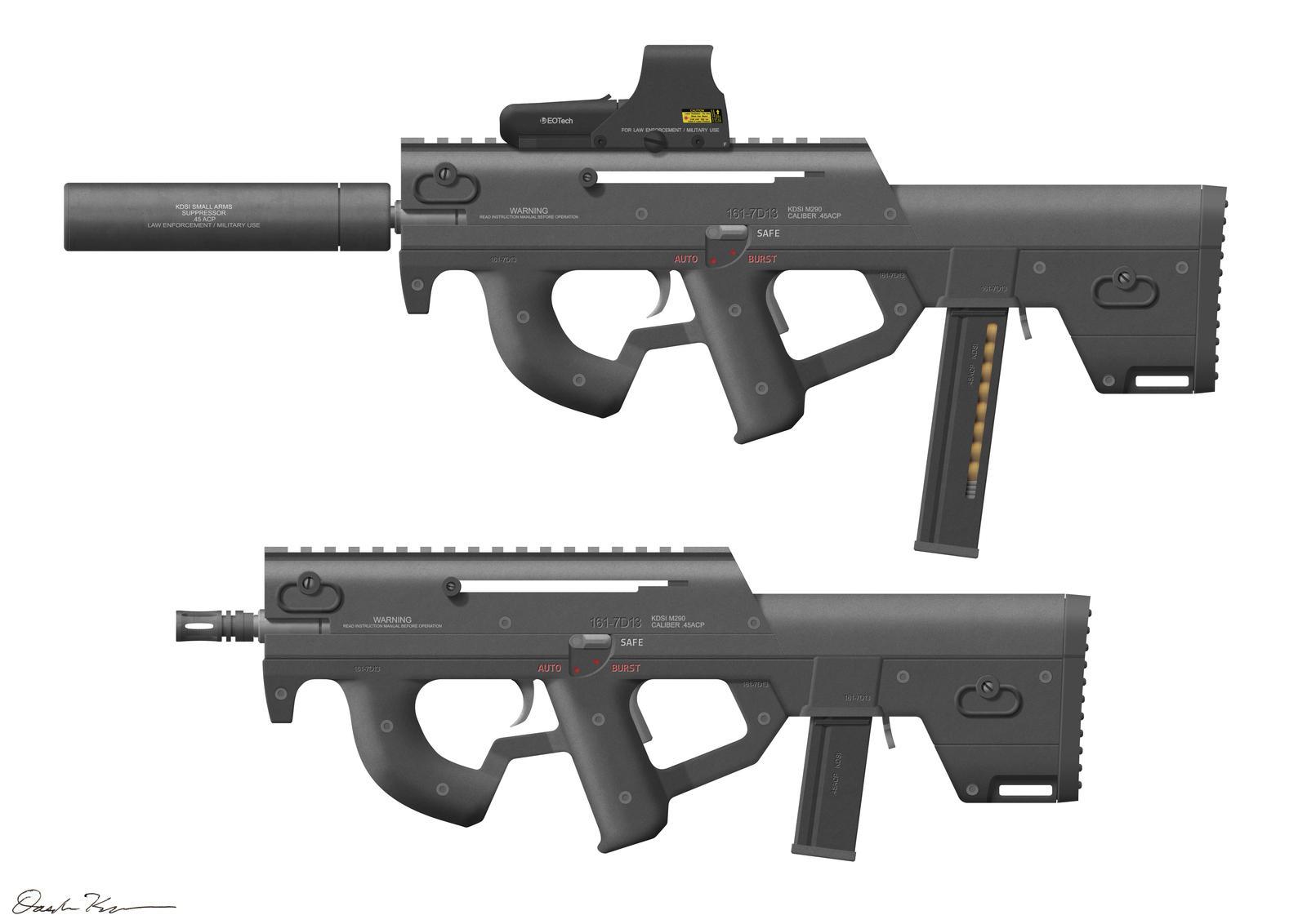 M290 SMG Custom by Nyandgate
