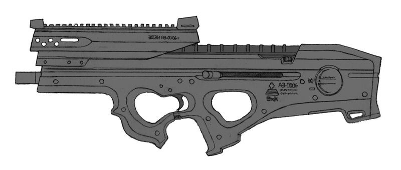 Essen AE-0006+ Assault Rifle by daisukekazama