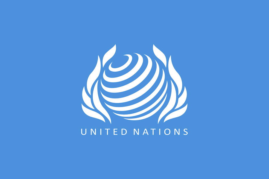 New UN Flag by daisukekazama