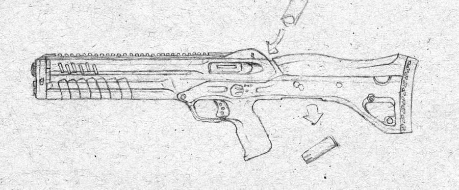 Concept Shotgun Ultra-Rough by daisukekazama