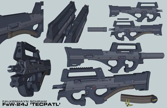 FsW-24-J Tecpatl SMG by Nyandgate