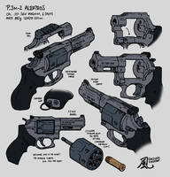 P.3M2 Combat Revolver by Nyandgate