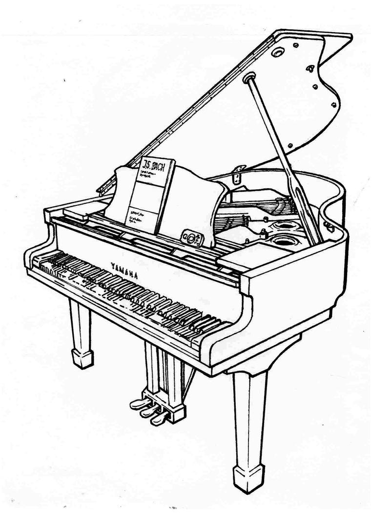Yamaha C3 (1995) Grand Piano by Nyandgate on DeviantArt