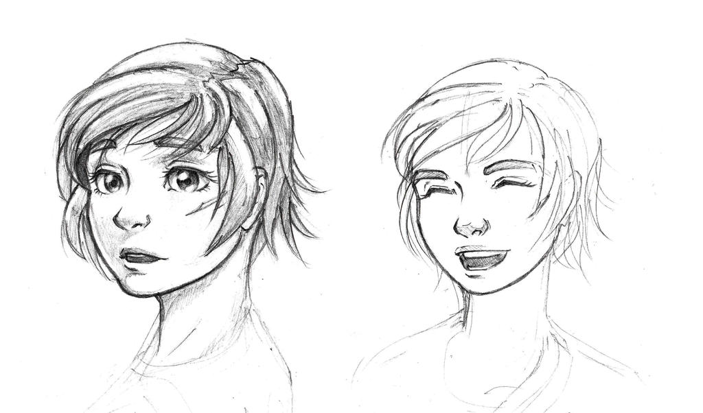 Character Sketch Practice (With Feeling!) by Nyandgate on DeviantArt