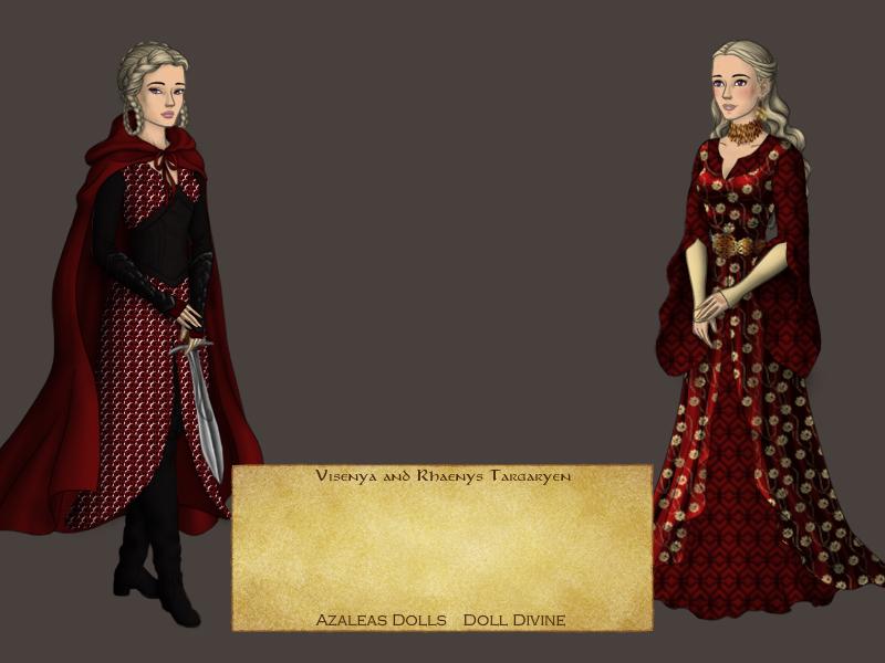 Visenya And Rhaenys