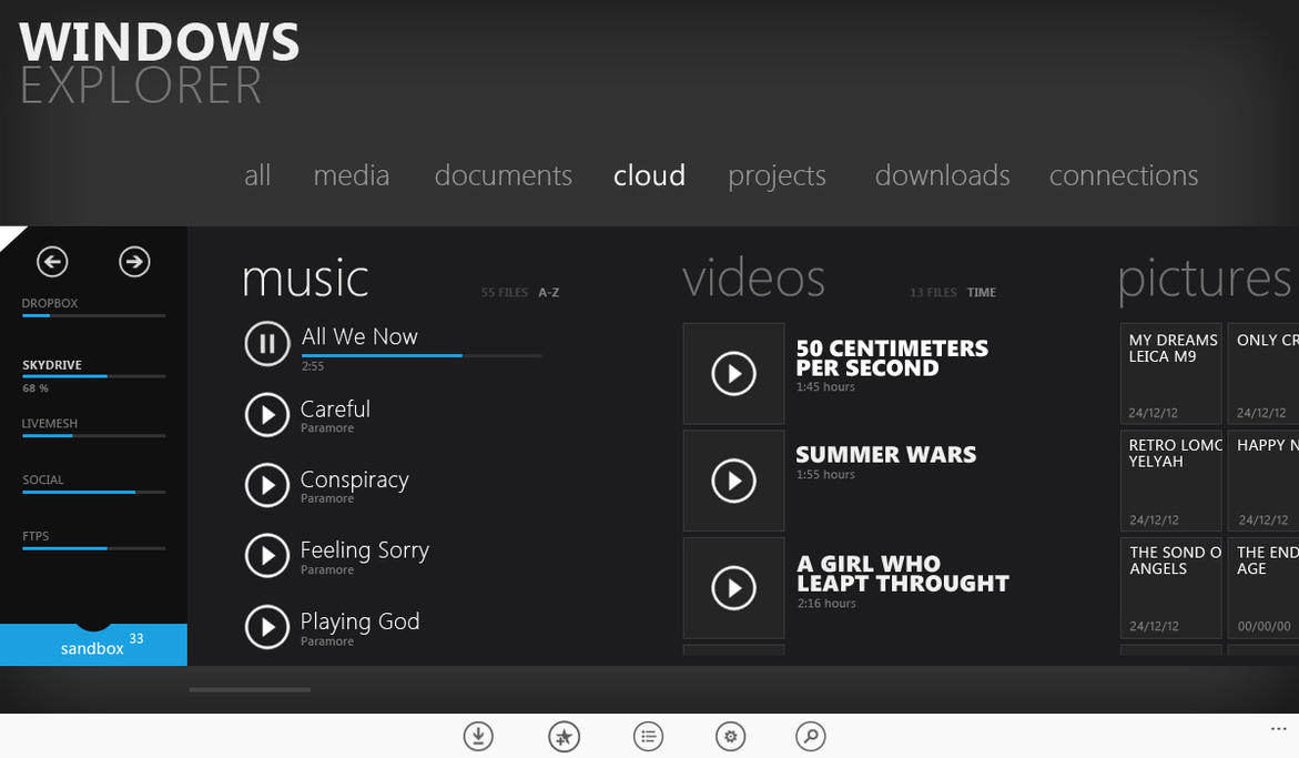 Windows Explorer for Windows 8 by uibox