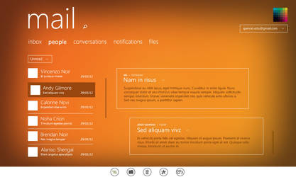 Mail app for Windows 8