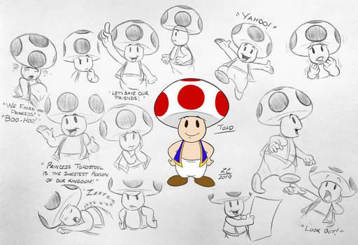 Super Mario Bros. - Toad LC