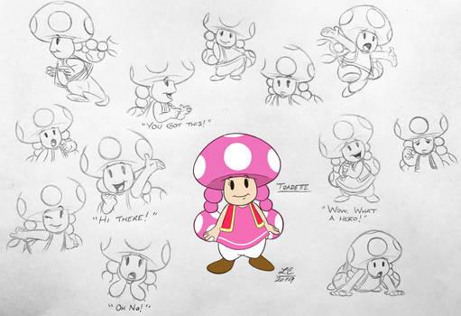 Super Mario Bros. - Toadette LC