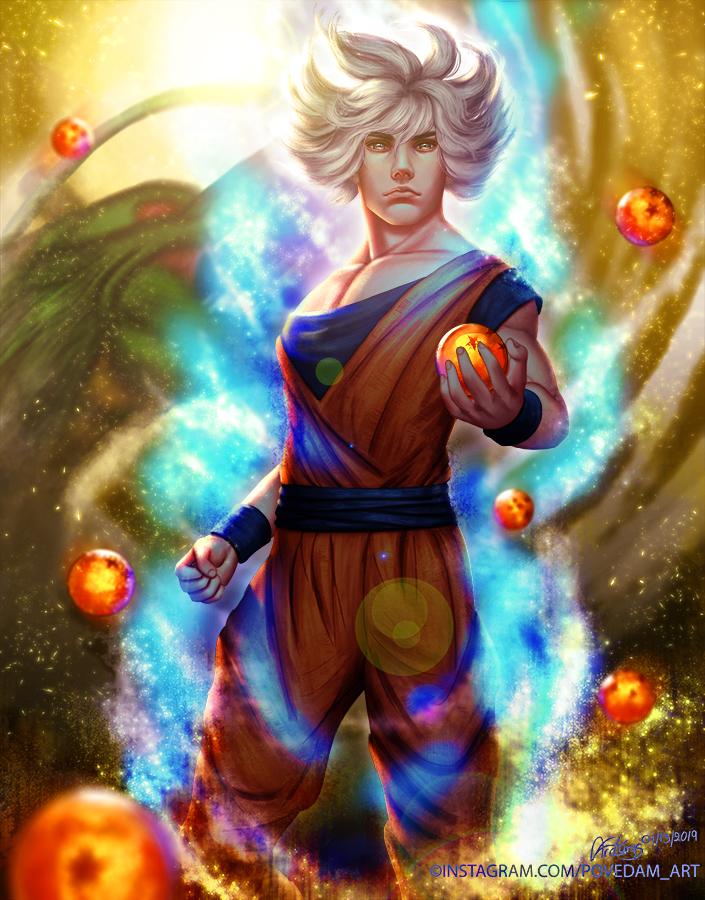 The Saiyan God - Son Goku by PovedaM