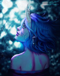 Blue Void by PovedaM