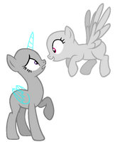 In your face - MLP Base 65 by ShiiBases
