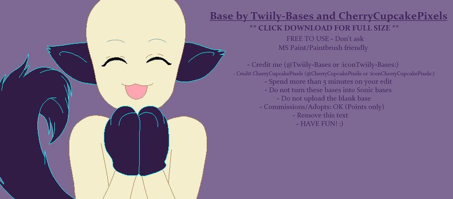 Base 5 Cherrycupcakepixels Edit By Shiibases On Deviantart