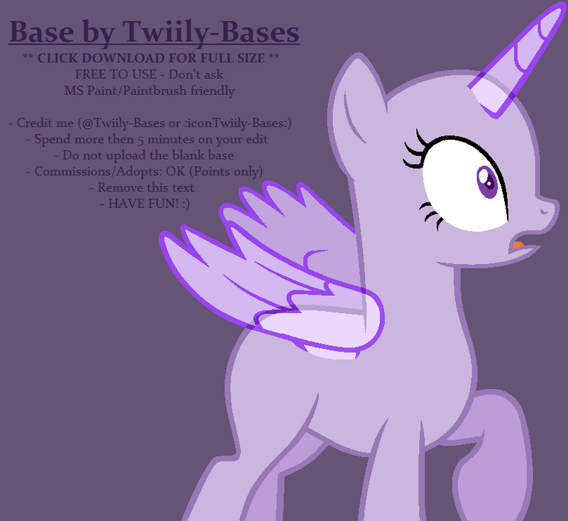 MLP Base 325 By ShiiBases On DeviantArt