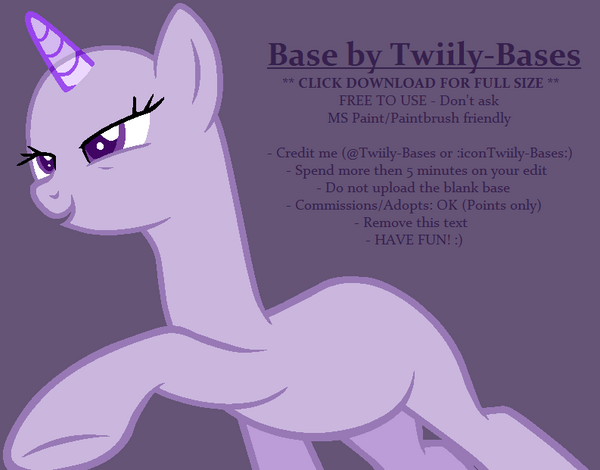 mlp base 336 by shiibases on deviantart