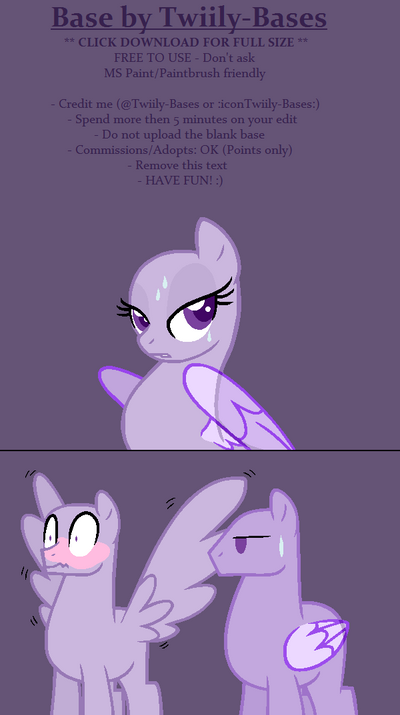mlp base 353 pomf by shiibases on deviantart