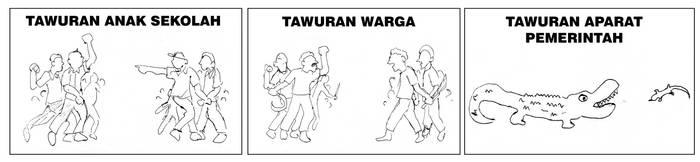 TAWURAN YUKS by xishio