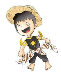 Gatot D. Luffy by xishio