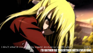 Lucy Heartfilia: I'd Rather