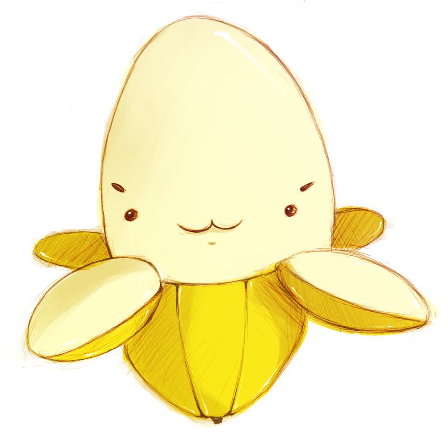 bananna by layra666
