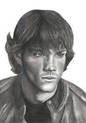 Drawing from Jared Padalecki by KriszTianOlah
