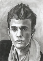 Drawing from Paul Wesley by KriszTianOlah